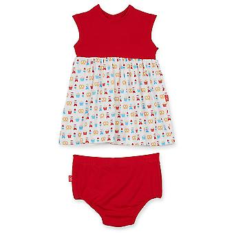 Magnetic Me™ by Magnificent Baby Modal Baby Girl Dress with Diaper Cover