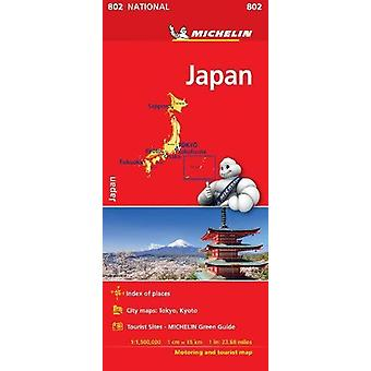 Japan - Michelin National Map 0802 - 2018 by Japan - Michelin National