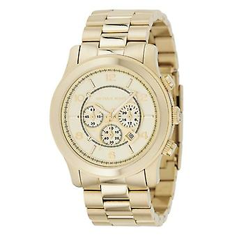 Michael Kors Mk8077 Men's Light Gold Chronograph Watch