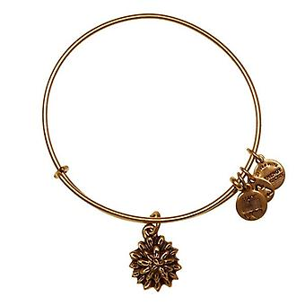Alex en Ani water lelie goud Bangle A12EB39RG