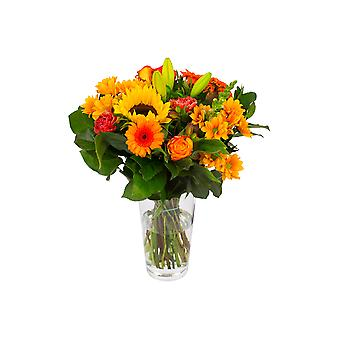 Bouquets – Bunch of Flowers Kim large, orange | Height: 45 cm