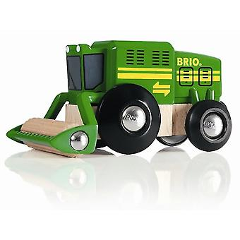 BRIO Harvester(damaged packaging was£8.60) 33407