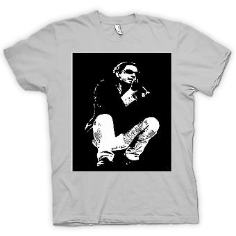 T-shirt Mens - Michael Hutchence INXS - BW