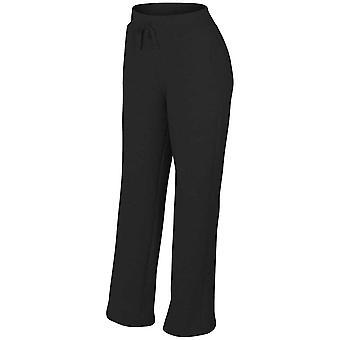 Gildan Heavyblend Womens Open Hem Jog Sweatpants
