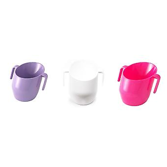 Doidy Cup Bundle - Cerise Sparkle, White Solid And Lilac Solid - 3 Items Supplied