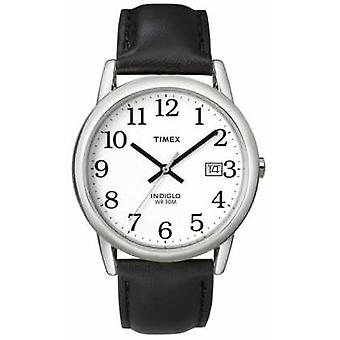 Timex Mens White Black Easy Reader T2H281 Watch