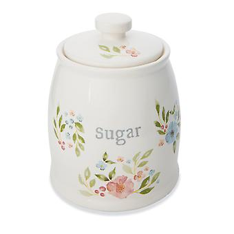 Cooksmart Country Floral Sugar Canister