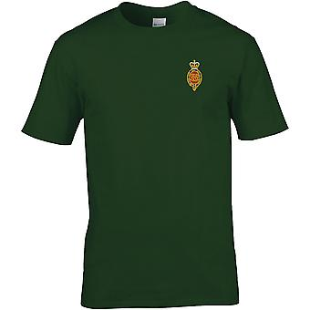 Royal Horse Guards Cypher-licenseret British Army broderet Premium T-shirt