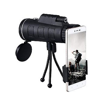 40x60 monocular telescope hd mini monocular for outdoor hunting camping set 2