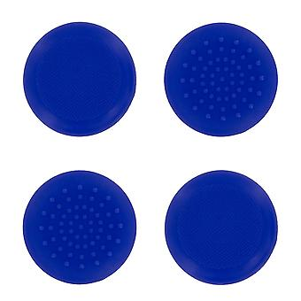 Tpu protective analogue thumb grip stick caps for microsoft xbox one- 4 pack blue