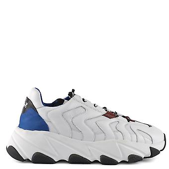 Ash Men's EAGLE Trainers White Leather & Mesh