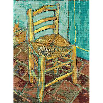 Van Gogh's Chair Counted Cross Stitch Kit-9