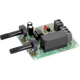 Interval timer Assembly kit Conrad Components 191299