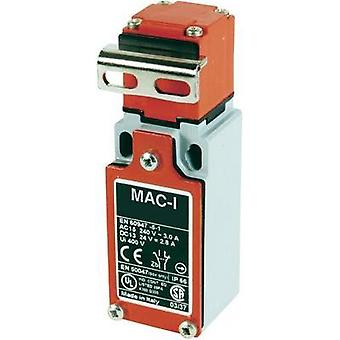 Limit switch 400 Vac 10 A Steel lever (straight) momentary