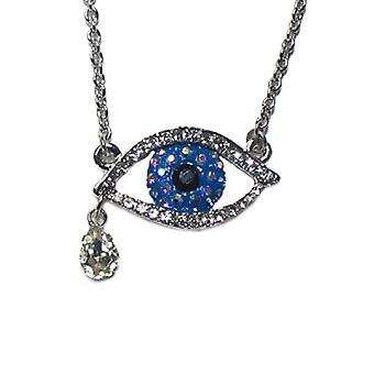 Butler & Wilson Crystal Tiny Eye Pendant