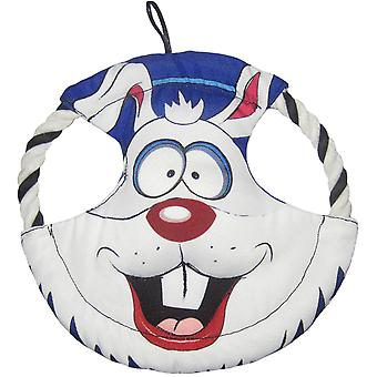 Durables Happy Tails Loonies Disk-Rabbit HTDISK-52143