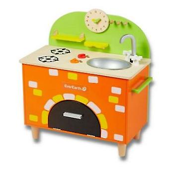 EverEarth Wooden Kitchen (Toys , Home And Professions , House , Playkitchen)