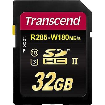 SDHC card 32 GB Transcend Class 10, UHS-II, UHS-Class 3