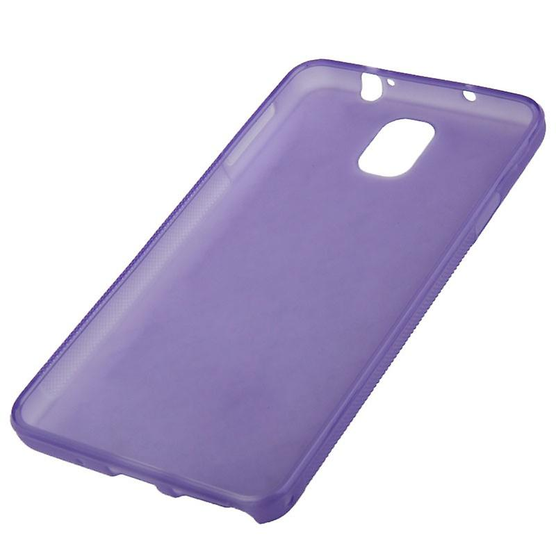 TPU case cover for Samsung Galaxy touch 3 / N9000 purple