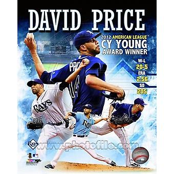 David Price 2012 American League Cy Young Award Winner Composite Sports Photo