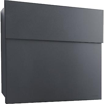 RADIUS letterbox Letterman 4 anthracite grey RAL 7016 wall letter box