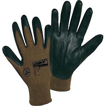 worky 1162 Fine knitted gloves ECO FOAM NITRIL made from 100% Viscose from Bambus 100 % Viscose from Bambus with Nitril-