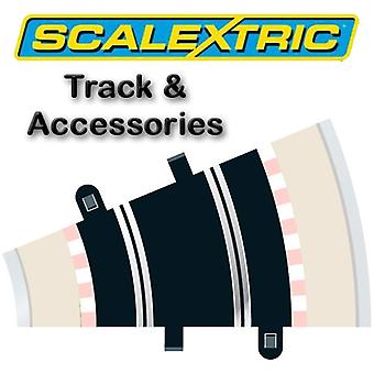 Scalextric Track - courbe rayon 2 22.5o (2)(C154)