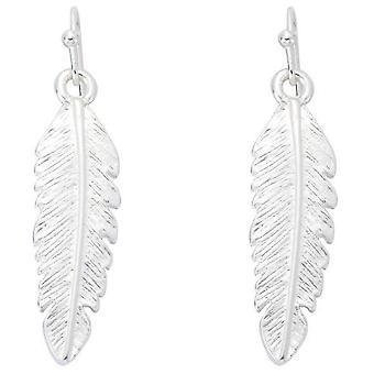 Jewel City Feather earrings - Silver Mate (Fashion accesories , Jewelery , Earrings)