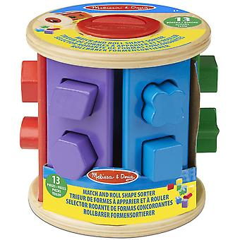 Melissa & Doug Match und Roll Form Sorter