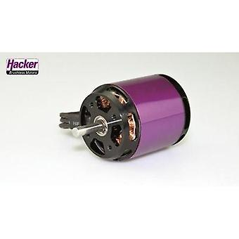 Model aircraft brushless motor Hacker A40-14L V4 14-Pole kV (RPM per volt): 355 Turns: 14
