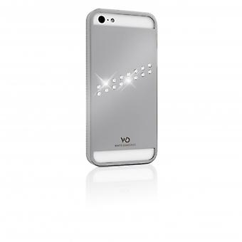 White DIAMONDS Shell Metal iPhone 5/5s/SEE Stream Silver