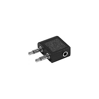 EXC Audio Adapter 2 x 3 5 mm Stereo 1 x 3.5 mm Male-Female