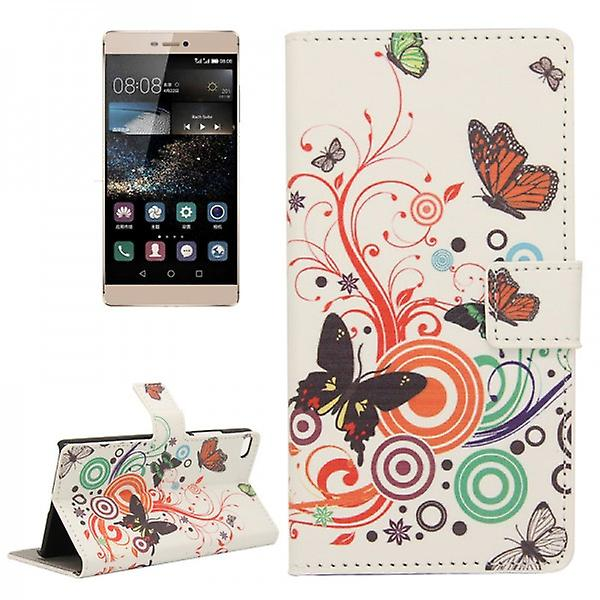 Pocket wallet premium pattern 2 for Huawei Ascend P8