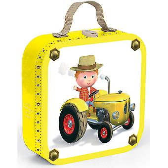 Janod Peter's Tractor Puzzle Case