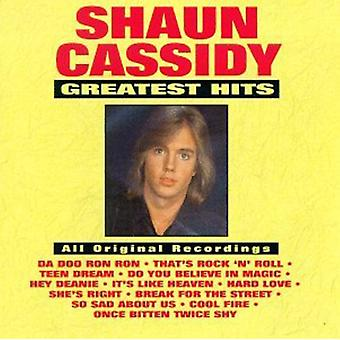 Shaun Cassidy - Greatest Hits CD] USA import