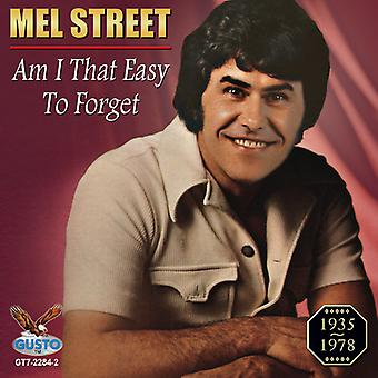 Mel Street - Am I That Easy to Forget [CD] USA import