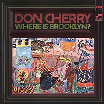 Don Cherry - waar Is Brooklyn? [CD] USA import