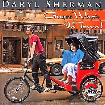 Daryl Sherman - Guess Who's in Town! [CD] USA import