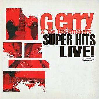 Gerry & the Pacemakers - Super Hits Live! [CD] USA import