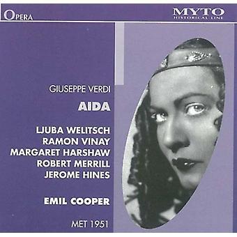 Verdi / Welitsch - Aida: Welitsch-Peter-Harshaw [CD] USA import