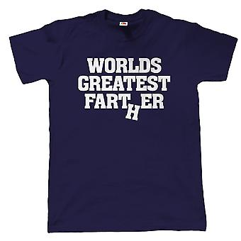 Vectorbomb, Worlds Greatest Farter, Mens Funny T Shirt (S to 5XL)