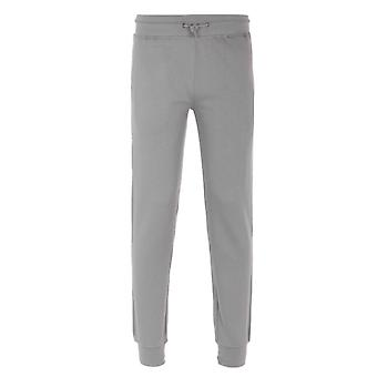 Weekend Offender Stone Mercury Grey Jersey Tracksuit Bottoms