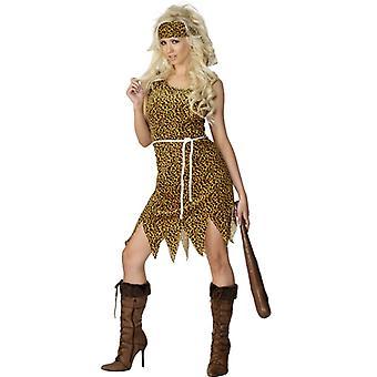 Primitive man costume cave woman primitive stone age woman man