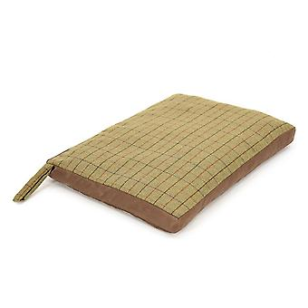 Tweedmill Tweed Home Dog Bed With Suede Base - 922/Chocolate