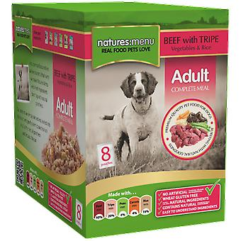 Natures:menu Dog Pouch Beef with Tripe (Dogs , Dog Food , Wet Food)