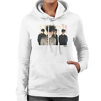 Jesus And Mary Chain Band Shot William Reid Close Up Women's Hooded Sweatshirt