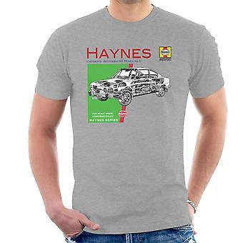 Haynes Owners Workshop Manual 0303 Skoda 110R T-Shirt voor mannen