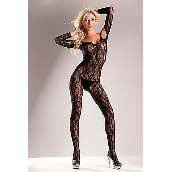 Be Wicked BWB16 Long Sleeve Body Stocking Also in plus size