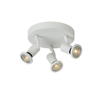 Lucide JASTER LED Spot 3xGU10/5W Incl 320LM White