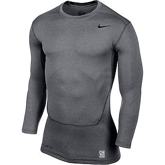 Nike Core Compression 2.0 Long Sleeve Top (Grey)